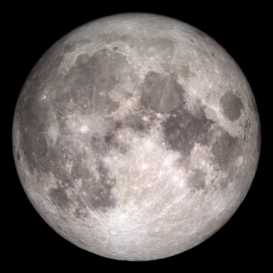 La Luna, captada por la sonda 'Lunar Reconaissance Orbiter'. NASA